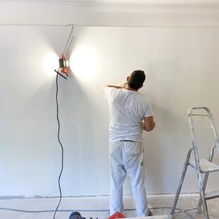 artisan peinture mur