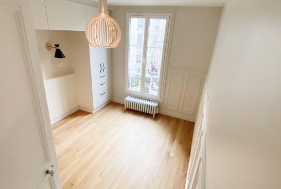 appartement renové paris